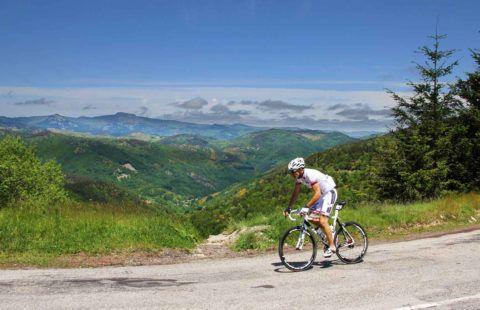 Cyclotourism in Ardèche © Stéphane Tripot