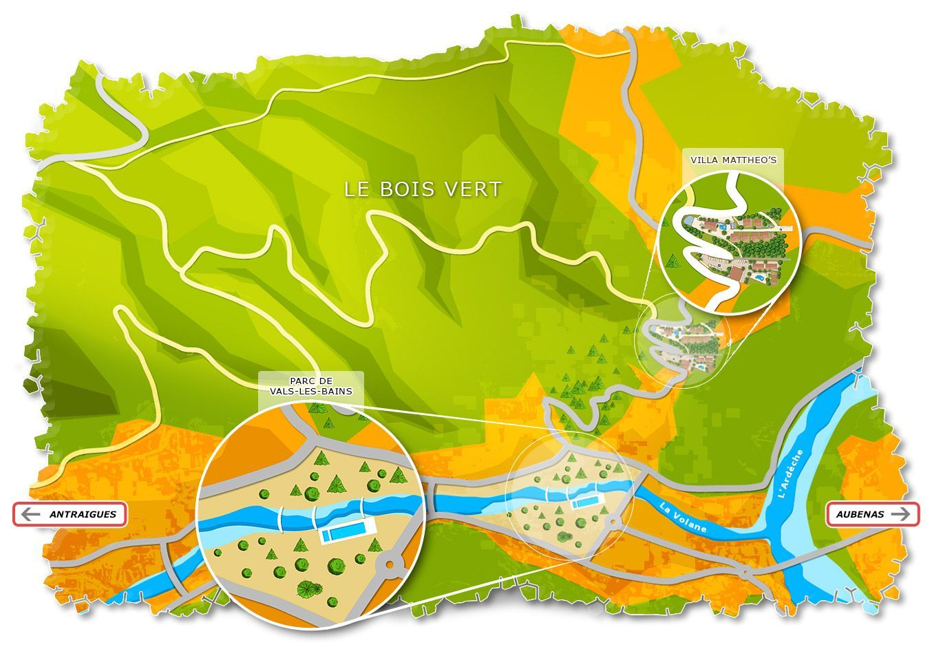 Carte activités nature et loisirs en famille