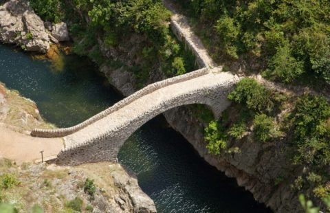 The Pont du Diable in Thueyts